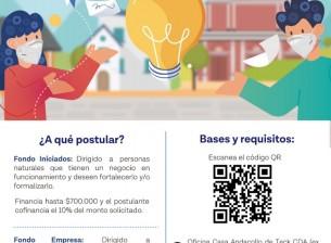 """Comienza proceso de postulación al """"Fondo de Desarrollo Microempresarial"""" 2021"""