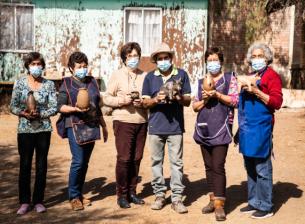 Agrupación de El Toro se capacita en taller de greda