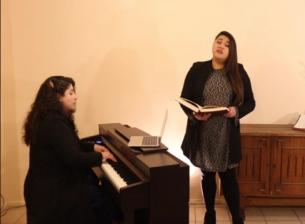 Cantante Lirica Camila Gallardo realizará concierto online este sábado