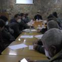 Autoridades locales y representantes de los pirquineros participaron de una mesa de trabajo